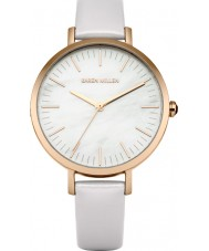 Karen Millen KM126PRG Ladies Pastel Lilac Leather Strap Watch
