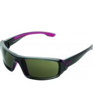 Cebe Excursion Shiny Anthracite Pink Sunglasses