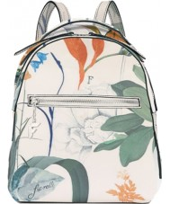 Fiorelli FH8690-PRINT Ladies Anouk White Botanical Print Backpack