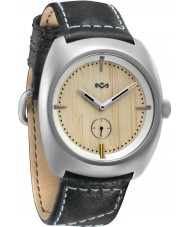 House of Marley WM-FA001-IO Mens Transport Leather Iron Watch