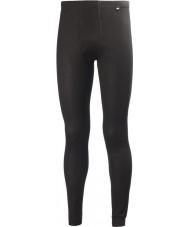 Helly Hansen 48900-990BLA-XL Mens Dry Fly Black Pant Baselayer - Size XL