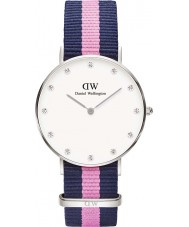 Daniel Wellington DW00100081 Ladies Classy Winchester 34mm Silver Watch