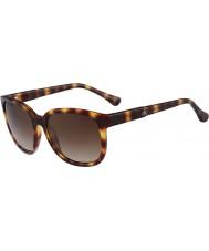 Calvin Klein Platinum Ladies CK3157S Tortoiseshell Sunglasses