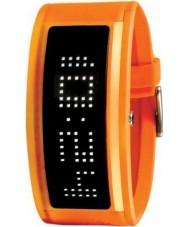 Black Dice BD-044-11 Guru Orange Rubber Strap Watch