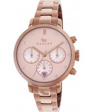 Radley RY4218 Ladies Battersea Link Rose Gold Chronograph Watch