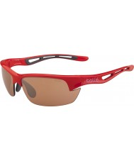 Bolle Bolt S Shiny Red Modulator V3 Golf Sunglasses