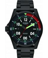 Nixon A959-1320 Mens Descender All Black Multi Watch