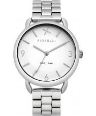 Fiorelli FO023SM Ladies Silver Steel Bracelet Watch