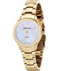 Swiss Eagle SE-6047-22 Ladies Field Akilina Gold Steel Bracelet Watch