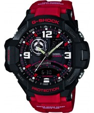 Casio GA-1000-4BER Mens G-Shock Twin Sensor Neon-Illuminator Watch