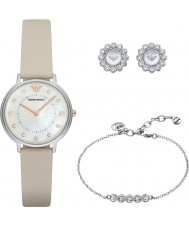 Emporio Armani AR80001 Ladies Dress Watch Gift Set