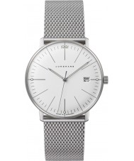 Junghans 047-4250-44 Ladies Max Bill Silver Steel Bracelet Watch