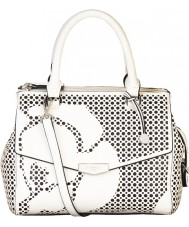 Fiorelli FH8446-WHITE Ladies Mia White Cutout Grab Bag