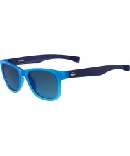 Lacoste L745S Turquoise Blue Magnetic Frame Sunglasses With Extendable Temples
