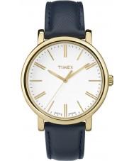 Timex Originals TW2P63400 Ladies Modern Blue Leather Strap Watch