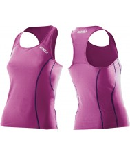 2XU Ladies Active Ultra Violet Tri Singlet