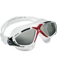 Aquasphere 172640 Vista Red White - Dark Grey Tinted Swimming Goggles