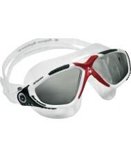 Aquasphere 172640 Vista Red White - Dark Grey Tinted Swimming Goggles
