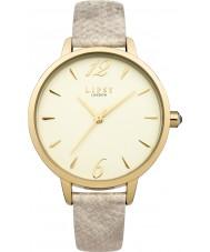 Lipsy LP459 Ladies Gold PU Strap Watch