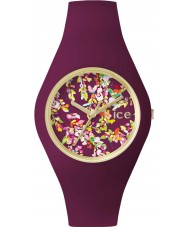 Ice-Watch 001444 Ice-Flower Exclusive Purple Silicone Strap Watch