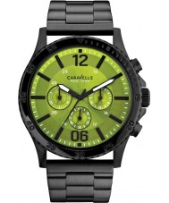 Caravelle New York 45A107 Mens Logan Black Chronograph Watch