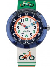 Flik Flak FBNP067 Boys Ride Out Multicolour Watch