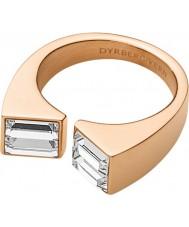 Dyrberg Kern Ladies Art Cadre Rose Gold Ring