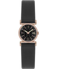 Orla Kiely OK2044 Ladies Cecelia Black Leather Strap Watch