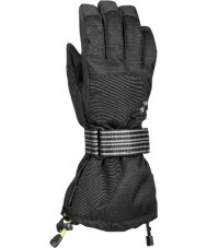 Reusch 4104271700 Back Flip R - Tex XT Black Gloves - Size M (UK 8.5)