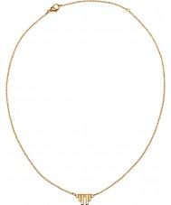 Edblad 31630012 Ladies Divine Wings Matt Gold Plated Short Necklace