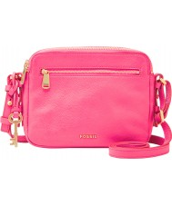 Fossil ZB6865673 Ladies Piper Neon Pink Cross Body Bag