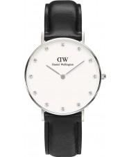 Daniel Wellington DW00100080 Ladies Classy Sheffield 34mm Silver Watch