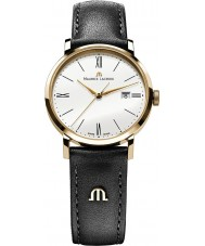 Maurice Lacroix EL1084-PVP01-110 Ladies Eliros Gold and Black Leather Strap Watch