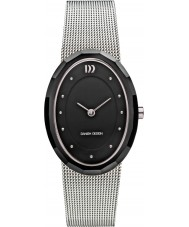 Danish Design V63Q1170 Ladies Silver Steel Mesh Bracelet Watch