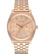 Nixon A922-897 Time Teller Deluxe Rose Gold Steel Bracelet Watch