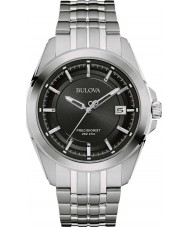 Bulova 96B252 Mens Precisionist Silver Steel Bracelet Watch