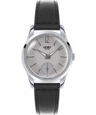 Henry London HL30-US-0073 Ladies Piccadilly Grey Crosshatch Black Watch
