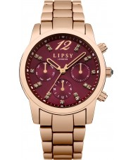 Lipsy LP461 Ladies Rose Gold Plated Bracelet Watch