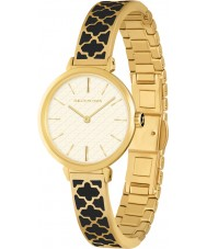 Halcyon Days HD4006 Ladies Agama Two Tone Brass Bracelet Watch