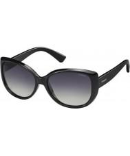 Polaroid Ladies PLD4031-S D28 IX Shiny Black Polarized Sunglasses