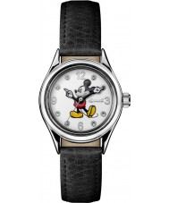 Disney by Ingersoll ID00902 Ladies Union Black Leather Strap Watch