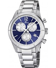 Lotus 15849-7 Mens Blue Silver Chronograph Watch