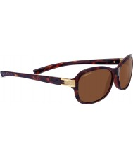 Serengeti Isola Shiny Dark Tortoiseshell Polarized Drivers Sunglasses