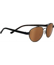 Serengeti Mondello Satin Black Polarized Drivers Sunglasses