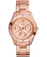 Fossil ES3815 Ladies Stella Rose Gold Plated Bracelet Watch