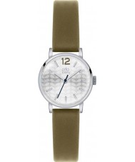 Orla Kiely OK2045 Ladies Frankie Olive Leather Strap Watch