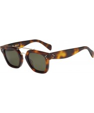 Celine Ladies CL 41077-S 05L 1E Havana Sunglasses