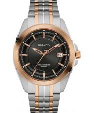 Bulova 98B268 Mens Precisionist Two Tone Steel Bracelet Watch
