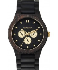 WeWOOD KAPPABLKRO Kappa Black RO Wood Strap Watch