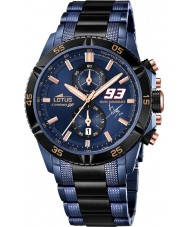 Lotus 18230-1 Mens Marc Marquez Chrono GP Limited Edition Watch with Additional Strap and Jewellery Bracelet